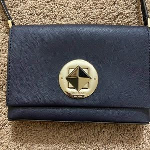 Kate Spade Small Navy Blue Purse